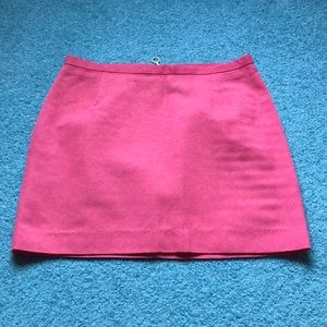 Coral Pink Mini Skirt